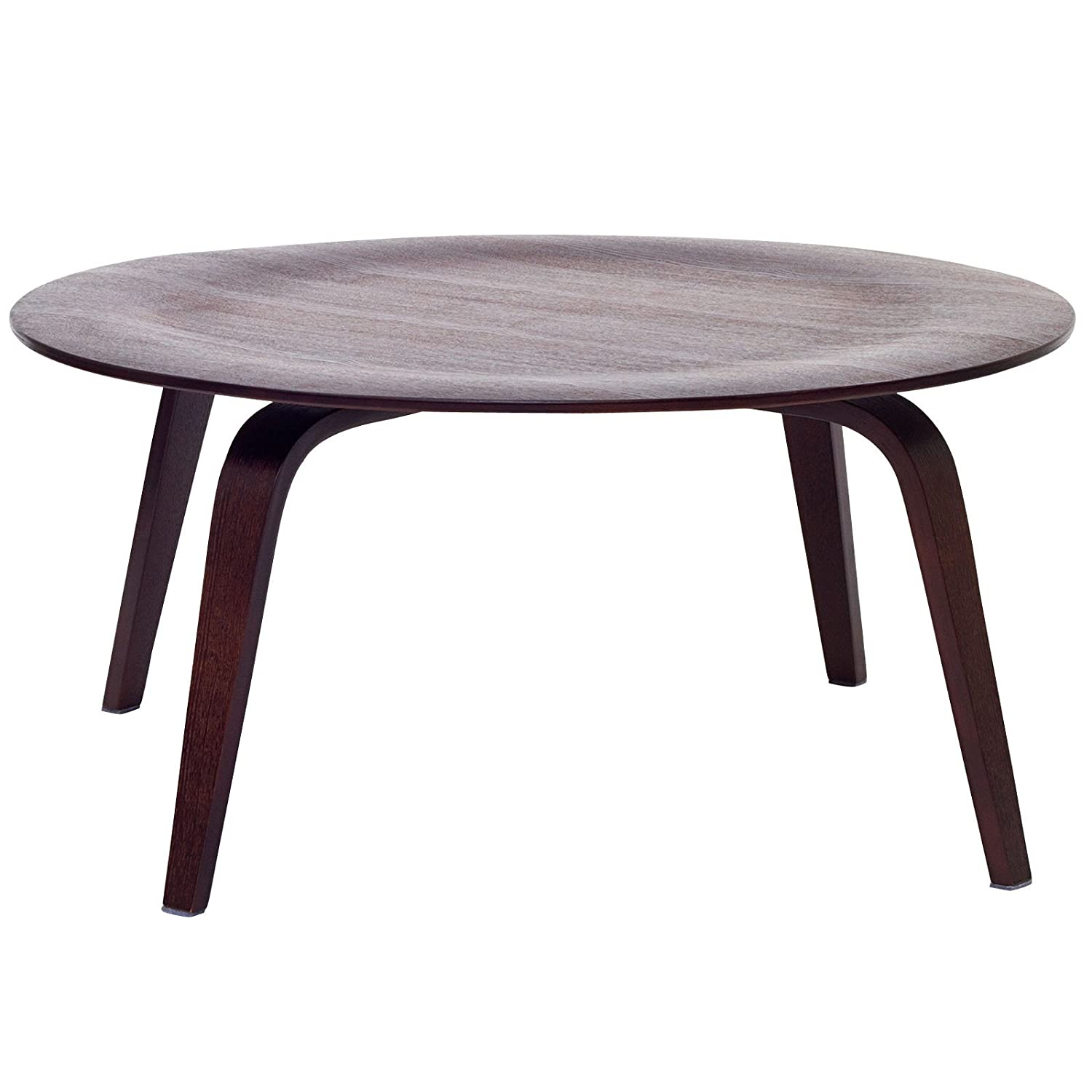 Amazon Modway Molded Fathom Coffee Table in Wenge Kitchen