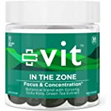 Vit - In the Zone - Nootropic Brain Supplement, Memory Support, Promotes Focus and Cognitive Function, Helps Increase Mental