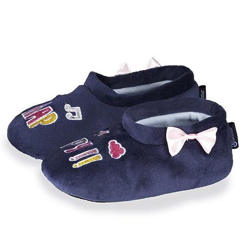 Isotoner - Zapatillas de Estar por Casa Niños: Amazon.es: Zapatos y complementos