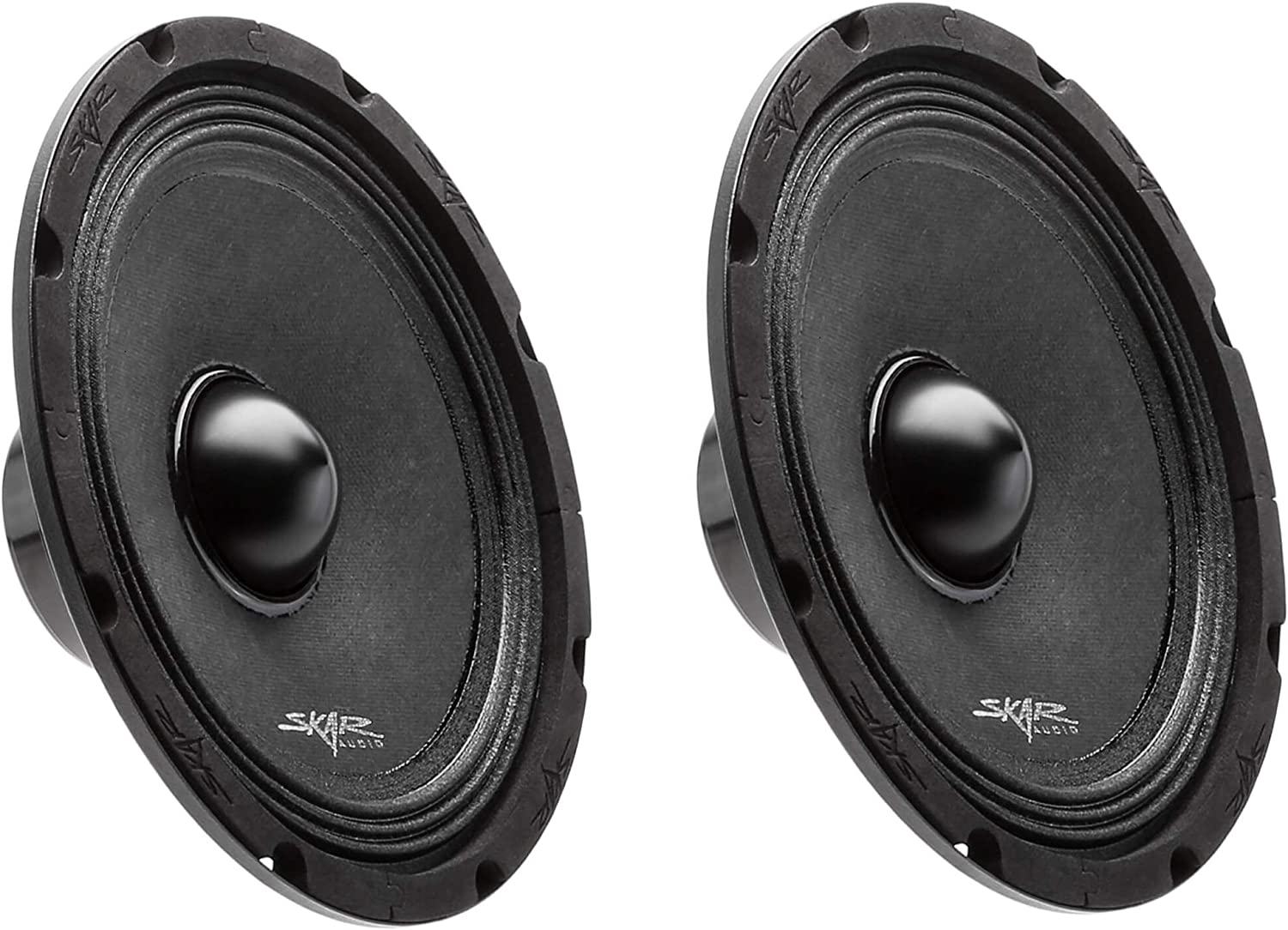 "(2) Skar Audio Npx8-4 8"" 350 Watt 4-Ohm Neodymium Pro Audio MID-Range Loudspeaker - 2 Speakers"