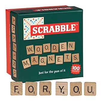 Amazon.de: Scrabble Holz Tile Kühlschrank Magnete