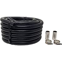 """RV Sewer Hose Extension for The Sewer Solution 3/4"""" Diameter Sewer Hose System, 50 FT Length Flexible PVC Tubing, 2…"""