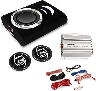 Auna Car Hifi Set Remscheid 2 1 Anlage 1100w Boxen Bass Elektronik