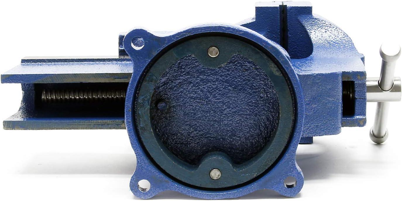 Tornillo de banco Light Duty Mordaza de banco 150 mm con yunque 6 Morsa de taller para uso ligero