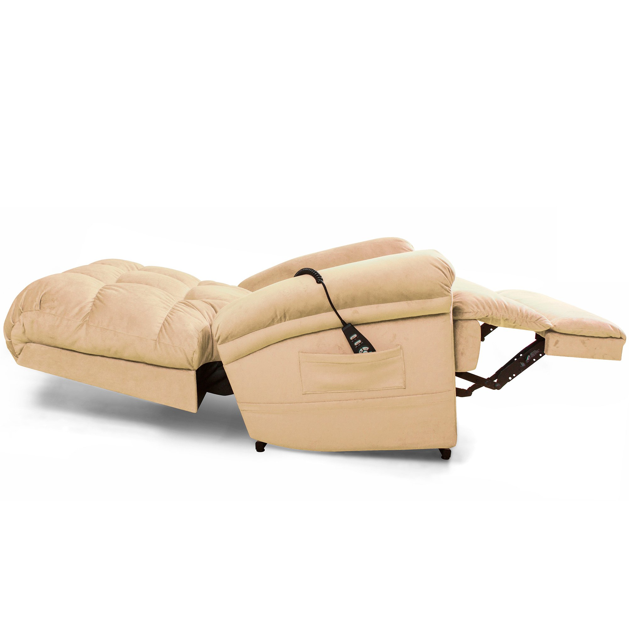 The Perfect Sleep Chair - Lift Chair & Medical Recliner – DuraLux II Microfiber - Cashmere (Tan)