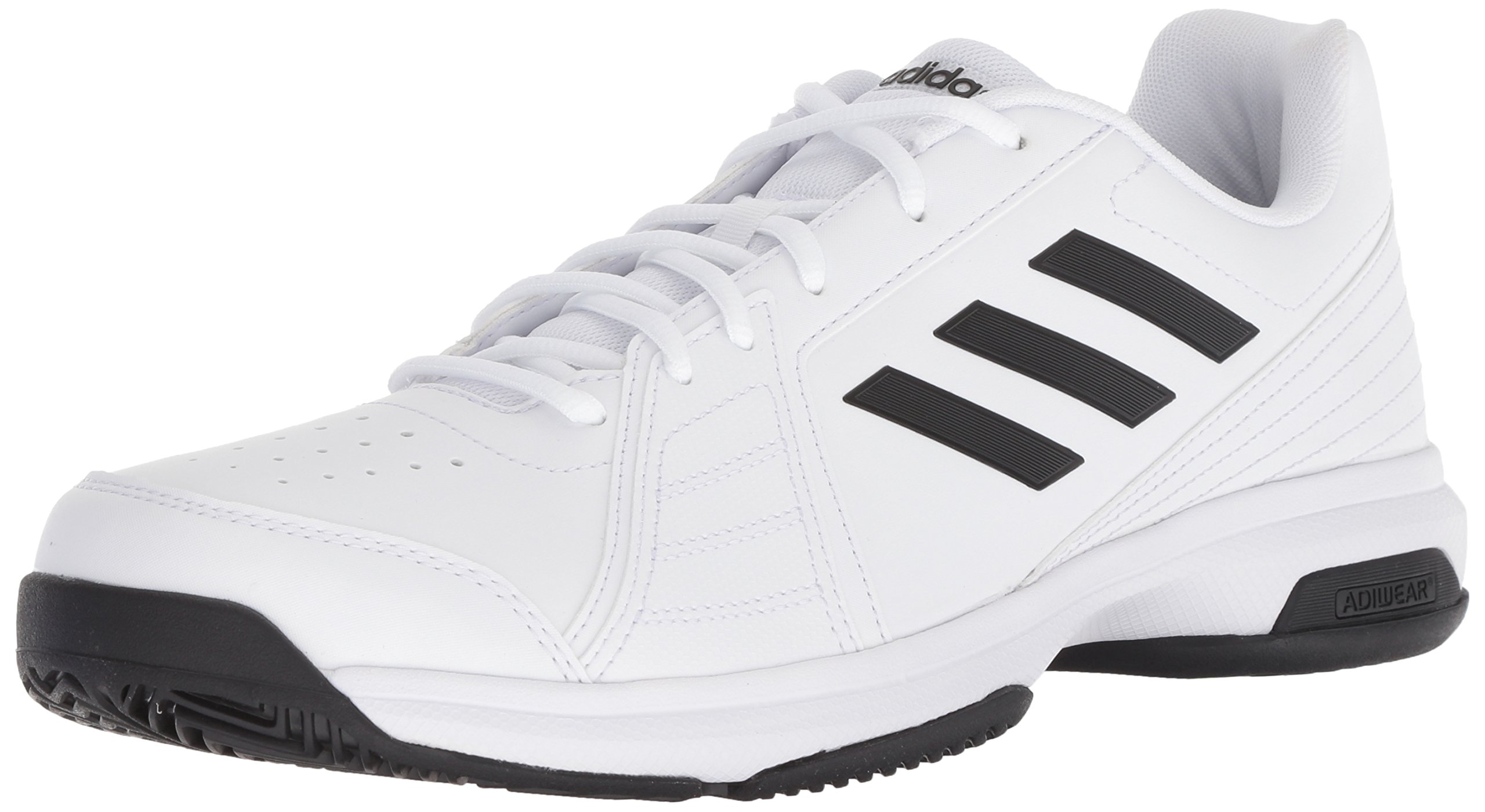adidas Men's Approach Tennis Shoe Black/White, 11 M US
