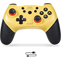 Sefitopher Wireless Switch Pro Controller for Nintendo Switch Console and PC Remote Switch Controller Gampads with Cable Support Gyro Axis Turbo and Dual Vibration