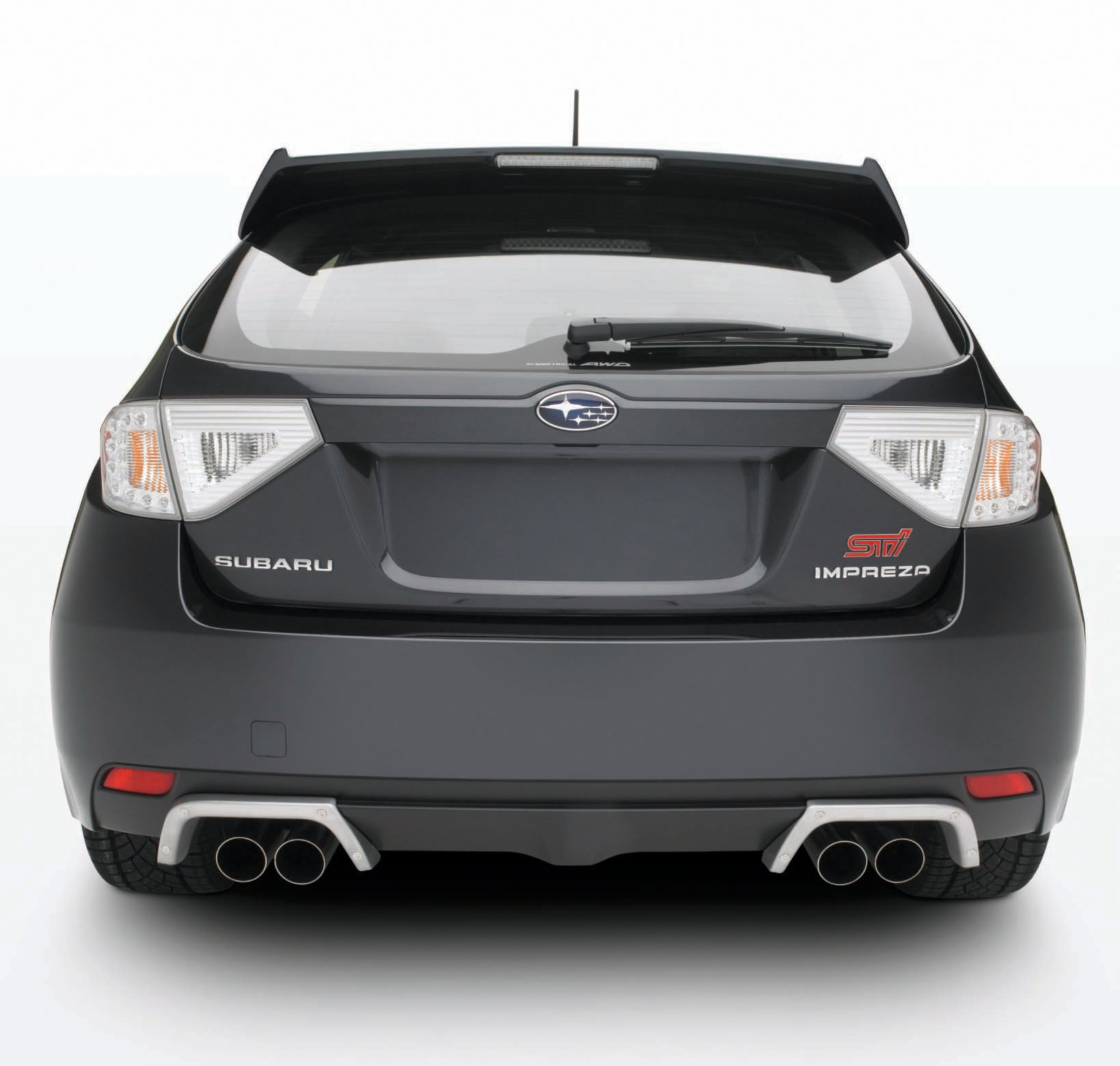 Genuine Subaru Impreza Exhaust Finishers by Subaru