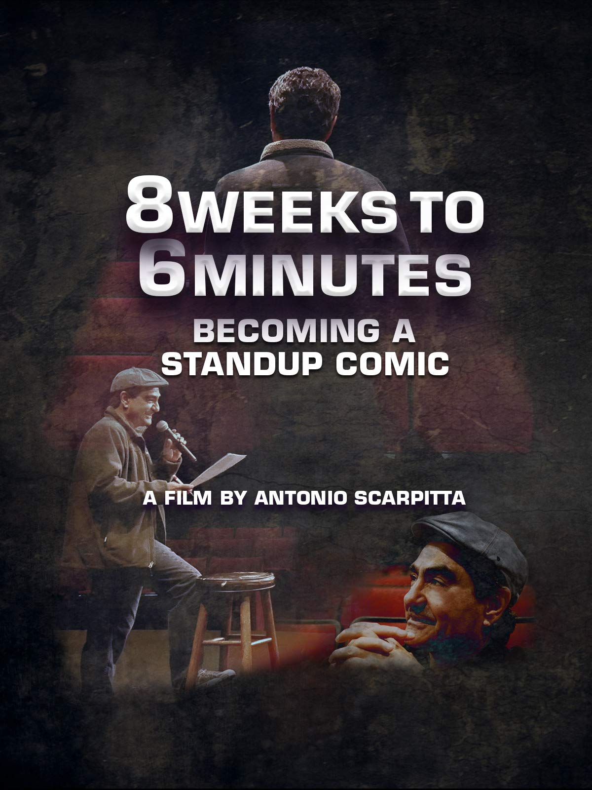 8 Weeks to 6 Minutes, becoming a standup comic