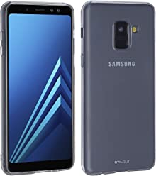 StilGut Coque Samsung Galaxy A8 (2018) en matière Plastique Invisible. Coque de Protection Transparente Samsung Galaxy A8 (2018) en Plastique Anti-Rayures