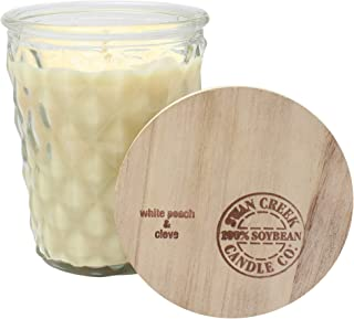 product image for Swan Creek Timeless Jar Collection 12 Ounce Soy Wax Candle (White Peach & Clove)