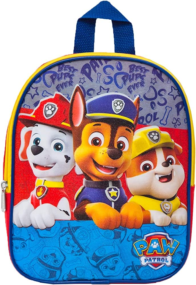 PAW Patrol Boys 10 Inch Mini Backpack Children's, Red, One Size