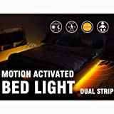 Amazon Price History for:Motion Activated Bed Light Emotionlite LED Motion Sensor Bedside Light Strip Bias Lighting Bedroom Light with Automatic Off Warm White 1600K(Under Bed Cabinet Dark Corner)(Double Strip/Queen Bed)