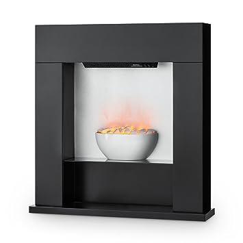 Klarstein Studio 8 Elektrischer Kamin Heizlüfter Elektrokamin  Flammenillusion Unabhängig Von Heizlüfter 1000/2000 Watt