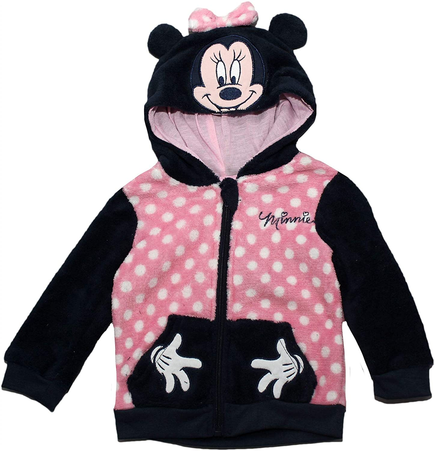 Amazon.com: Minnie Mouse Disney Baby Spots and Hands Jumper with Hood: Clothing