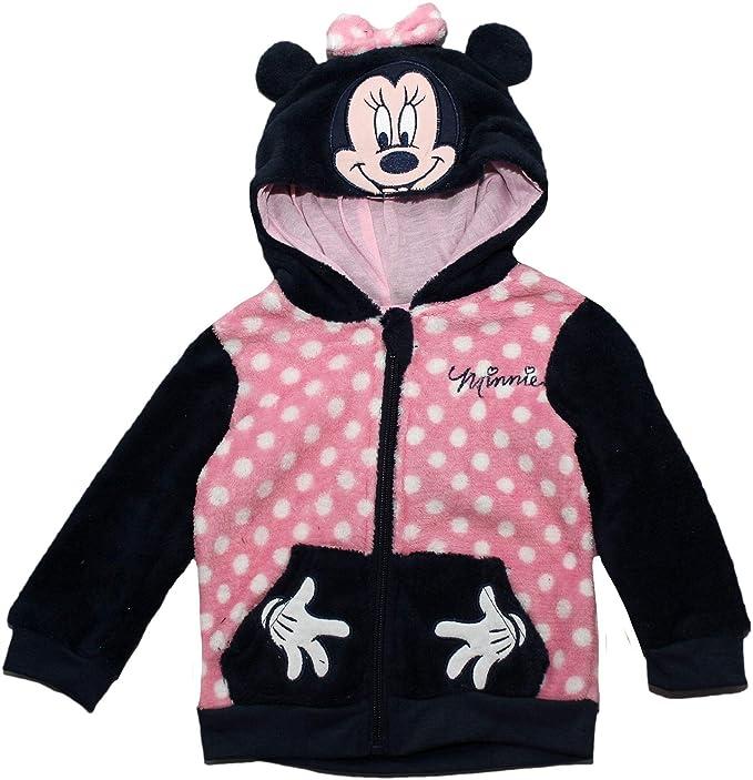 Disney - Sudadera con Capucha - para niña Azul Azul 12 Meses