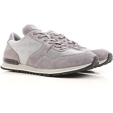 Tod s Sneaker Multi Tessuto da Running XXM0XH0Q803H8W89FG Grigio Uomo 5 9aedf588540