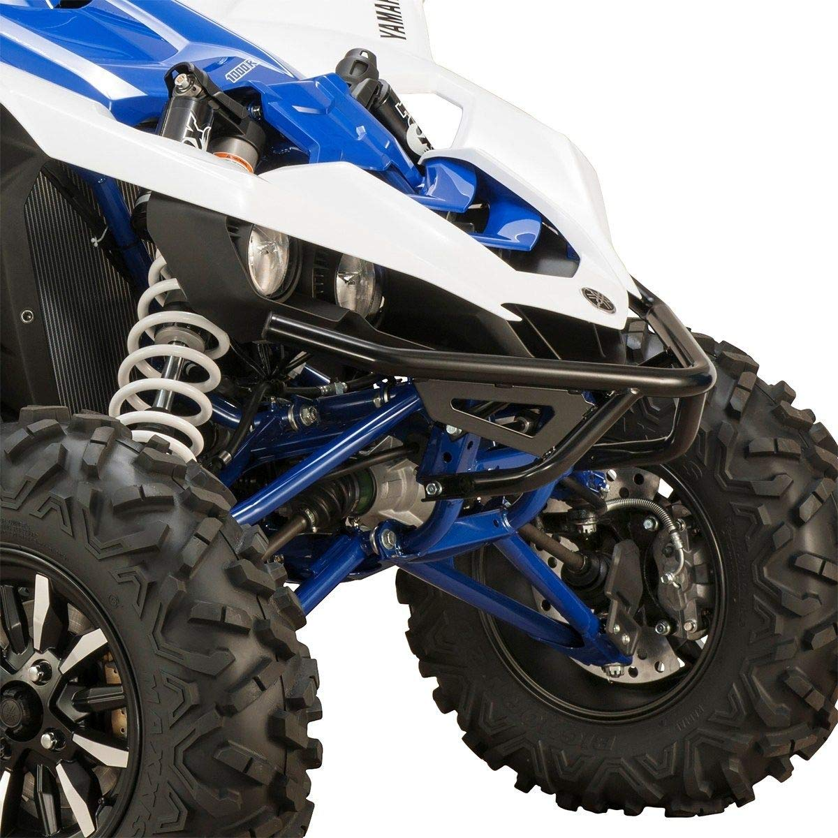 Black Genuine Yamaha Accessories 16-18 Yamaha YXZ1000R Desert Front Grab Bar Without Winch Plate