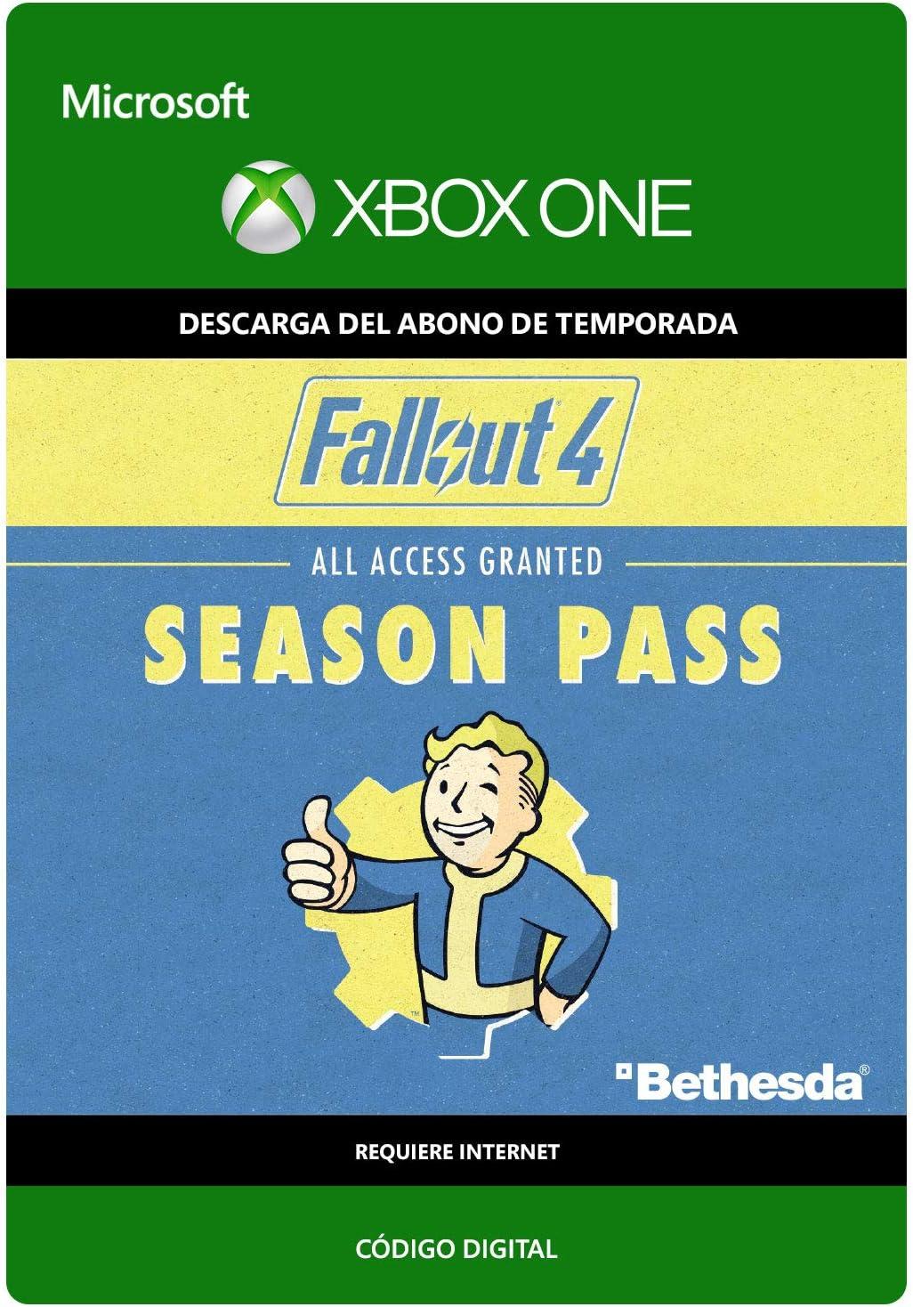 Fallout 4: Season Pass | Xbox One - Código de descarga: Amazon.es ...