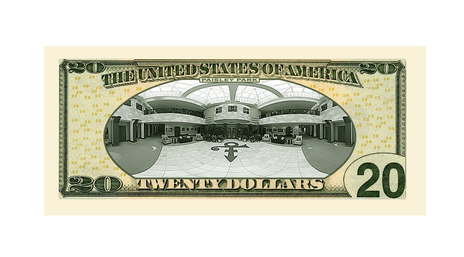 American Art Classics Prince $20.00 Limited Edition Novelty Twenty Dollar Collectible Bills - Pack of 100 - Best Gift Or Keepsake for Lovers of Prince by American Art Classics (Image #2)