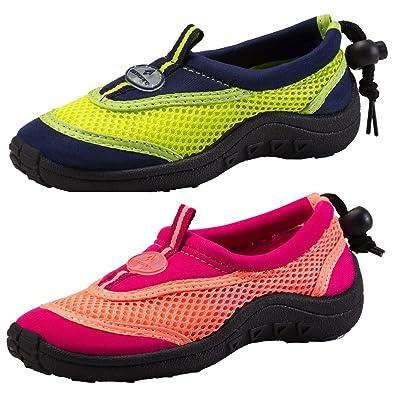12d533fb4 Tecno Pro Unisex Kids' Freaky JR Beach & Pool Shoes, Blau (Navy ...