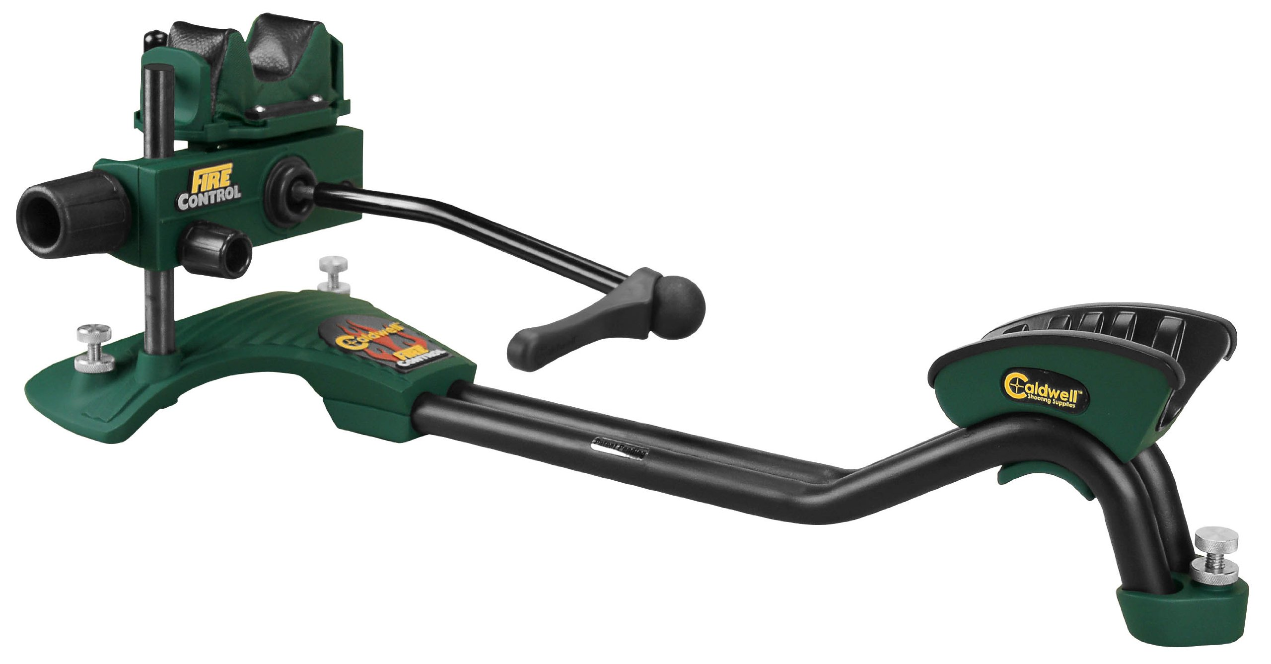 Caldwell Fire Control Full Length Rest Adjustable Ambidextrous Rifle Shooting Rest for Outdoor Range by Caldwell
