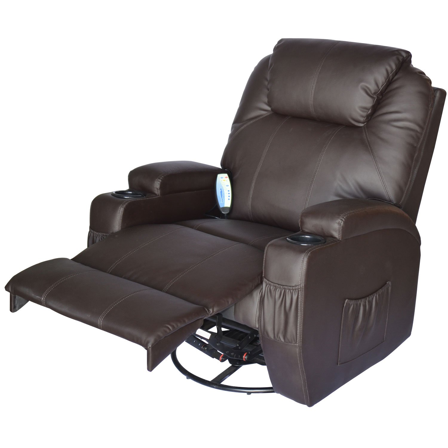 Hom Luxury Leather Recliner Sofa Chair Cinema Massage Chair