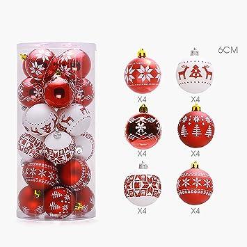 Christbaumschmuck Weihnachtsbaumschmuck Baumbehang Pakete rot//silber  4 cm NEU
