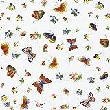 Vintage Pattern Paper Napkins, Alink Printed Butterfly Decorative Tea Party Shower Napkins Serviettes, 20 Count