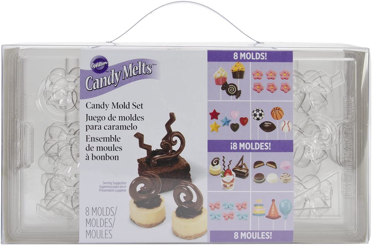 Wilton Candy Mold Party Pack, 8-Pack