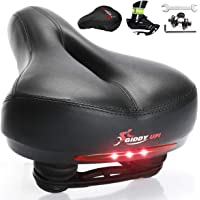 Giddy Up! Bike Seat - Most Comfortable Memory Foam Waterproof Bike Saddle, Universal Fit, Shock Absorbing Including…