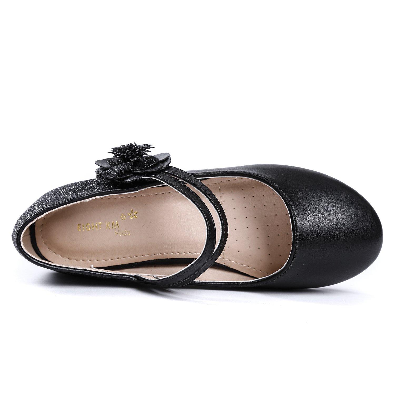 Ragazze Partito Formale Scarpe da Danza EIGHT KM Bambina Principessa Eleganti Scarpe Mary Jane Bridal Ragazze Tacco Basso Scarpe