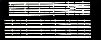 12 LED Backlight Strips See Note LB65041 for Vizio E65-E3