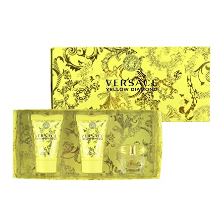 Versace Yellow Diamond 3 Piece Mini Gift Set
