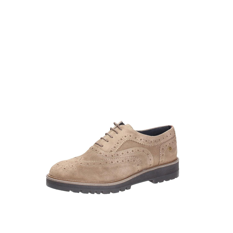 f4c3dc0398f6a6 Tommy Hilfiger Men s Lace-up Flats Timberwolf Beige Size  6.5   Amazon.co.uk  Shoes   Bags