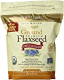 Spectrum Ground Flaxseed, 24 Ounce (Pack of 2)