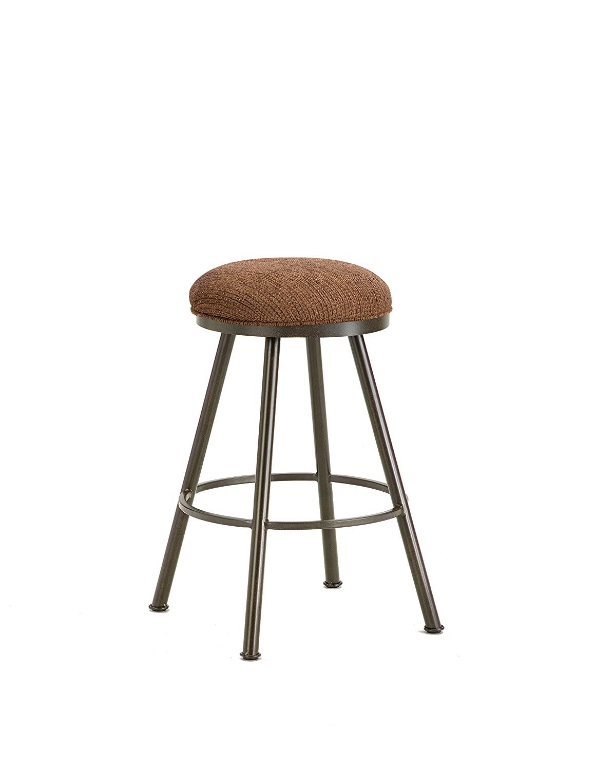 2dadc7751dc Amazon.com  Iron Mountain Alexander Backless Bar Stool with 30-Inch Seat  Height