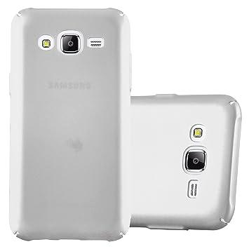 Cadorabo Funda para Samsung Galaxy J5 2015 en Metal Plato - Cubierta Protección de Plástico Duro Super Delgada e Inflexible con Antichoque - Case ...