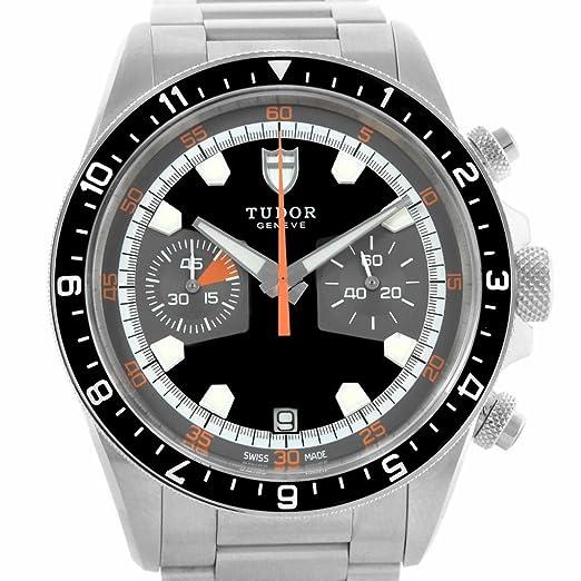 Tudor Patrimonio automatic-self-wind Mens Reloj 70330 N (Certificado) de segunda mano: Tudor: Amazon.es: Relojes