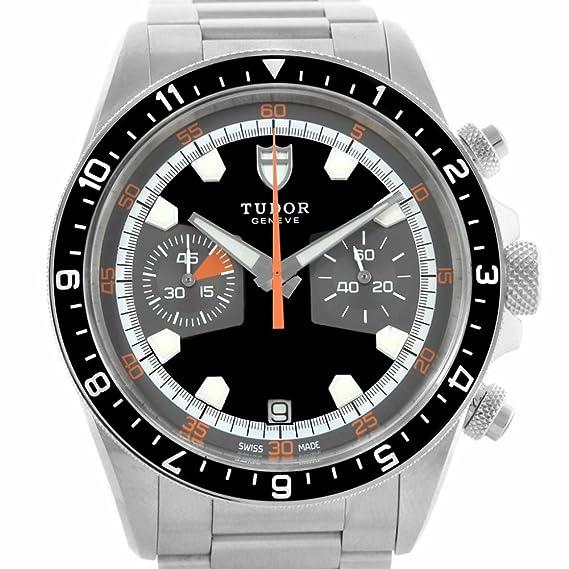 Tudor Patrimonio automatic-self-wind Mens Reloj 70330 N (Certificado) de segunda
