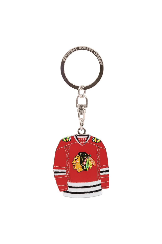 Amazon.com: NHL Chicago Blackhawks 2-Sided Jersey Llavero ...