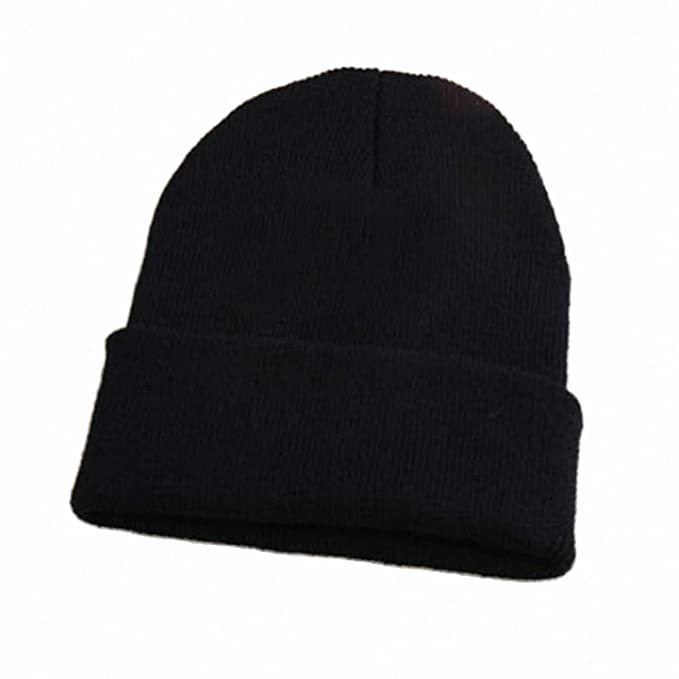 1ff75174322 Smakke New Arrival Burst Knitted Wool Cap 10 Color Wool Hats for Men Women  Fashion Autumn and Winter Models Hats Warm Beanies Black at Amazon Women s  ...