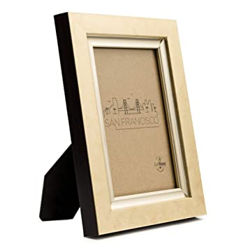 Amazoncom 4x6 Picture Frame Gold Rustic Hang Or Desktop Photo