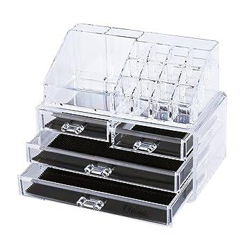 Amazoncom Ovonni SF1155 Acrylic Makeup Organizer Jewelry