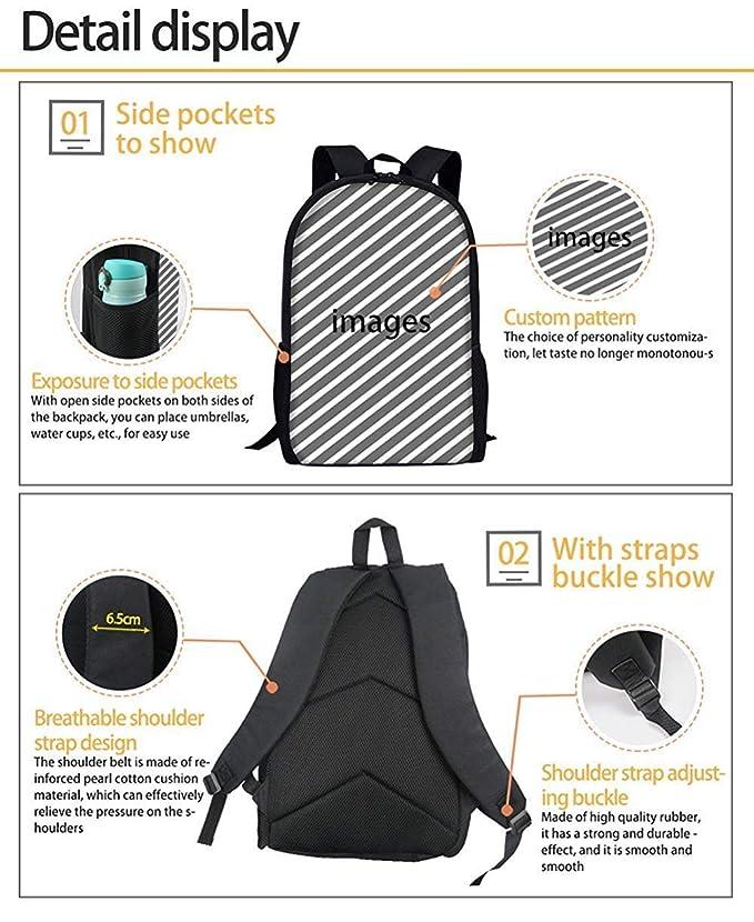 ebe313b8280f Amazon.com: Yunqir Children's Backpacks Ball Backpack Creative ...