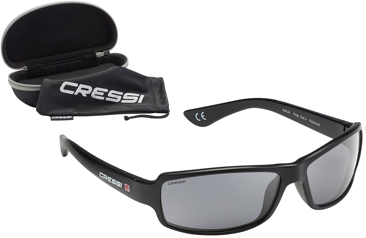 cressi ninja sonnenbrille sport herren polarisiert mit. Black Bedroom Furniture Sets. Home Design Ideas