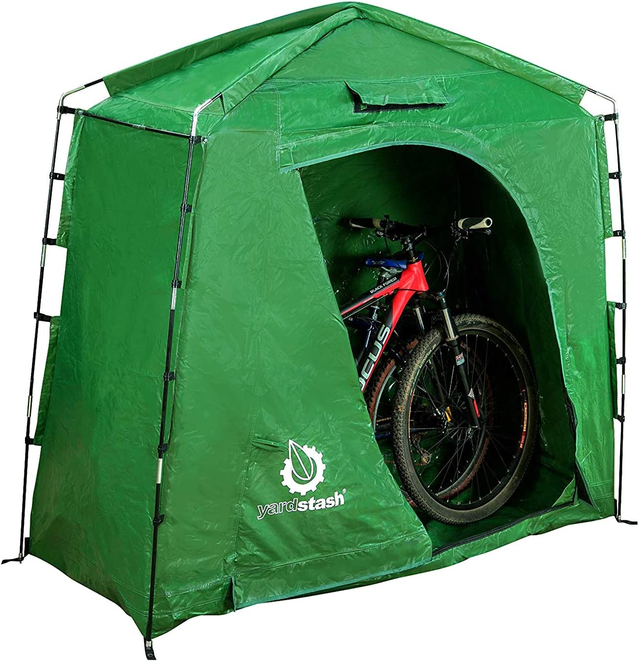 The YardStash IV Heavy Duty, Space Saving Outdoor Storage Shed Tent