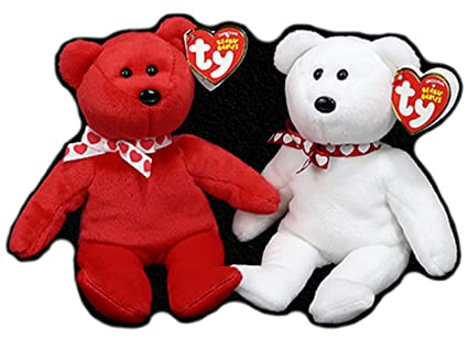 af509206f86 Amazon.com  BlackLabel Direct Ty Beanie Babies - Valentines Day ...