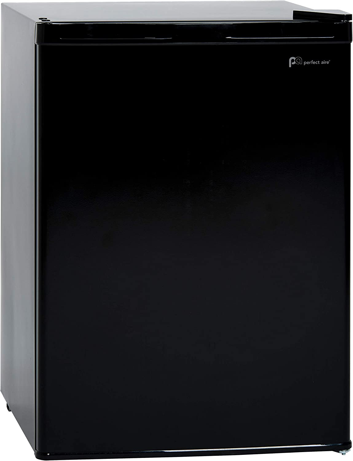 PerfectAire 2.6-Cu. Ft. Single-Door Black, 3W1BF26 Compact Refrigerator,