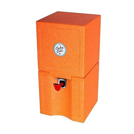 Cooling Cubes Curl - Nevera para Picnic (5 L), Color Naranja ...
